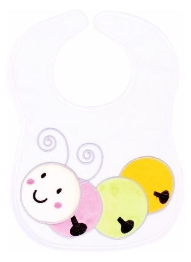 Sevi Bebe Sevi Bebe Hayvancıklı Önlük Tırtıl Renkli
